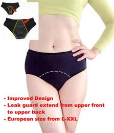 Wholesale Modal Sleepwear - XL XXL XXXL Plus Size Women's Period Leak Proof Underwear Menstrual Panties Incontinence Panty Sleepwear Briefs Modal Apparel Clothing