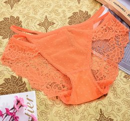 Wholesale Lace Wholesale Usa - Export to USA Briefs Super elastic 2017 new fashion ladies sexy underwear panties for women free shipping