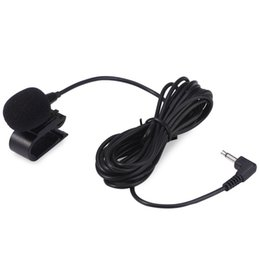 Wholesale Mini Dvd For Cars - Professionals Car Audio Microphone 3.5mm Jack Plug Mic Stereo Mini Wired External Microphone for Auto DVD Radio 3m LongProfessionals Car Aud