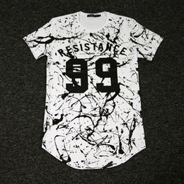 Wholesale Dj Clothing - Fashion Men T Shirt Cotton Short Sleeved Casual T-Shirt DJ hip hop swag tee Men's clothing swag tops tees free shipping