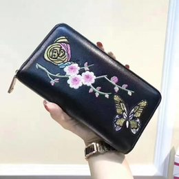 Wholesale Variety Packaging - Variety Wallet Classic Brand Perfect design women wallet fashion Genuine leather wallet Card package Special counter Top quality