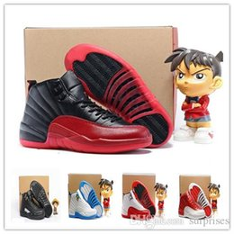 Wholesale Premium French - 2016 air Retro 12 ovo Premium Deep Royal Blue Suede 12s Wool Flu Game Gym red French Gamma Blue Bronze Taxi Sneakers Boots