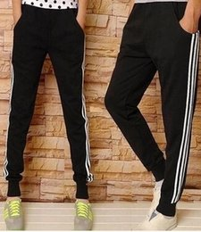 Wholesale Wholesale Big Clothing Leather - Wholesale-New Kanye west Hip Hop big and tall Fashion zippers jogers Pant Men Black Joggers dance urban Clothing Mens faux leather Pants