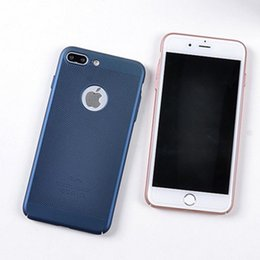 Wholesale Net Mobile - For iphone7 plus cell phone cases with iphone6s Pc net heat and breathable solid color TPU mobile phone protective cover free shipping