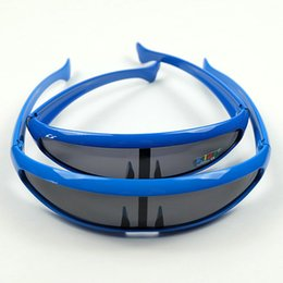 Wholesale Aliens Kid - The Toy Sunglasses Shield Style Big And Small Fishes Design Alien Eyewear Family Set Help You Close To Your Kids