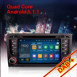 "Wholesale S3 Czech - 7"" 4-Core Anroid 5.1 DVD GPS AUDI A3 S3 RS3 RNSE-PU Stereo Radio GPS Wifi DTV-IN BT DAB+ Mirror Link"