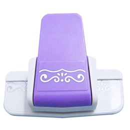 Wholesale Craft Flower Punches - Wholesale- New border punch S flower design embossing Punch scrapbooking handmade edge device DIY paper cutter Handmade Craft gift Wishful