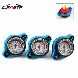 Wholesale Bar Radiators - RASTP- RACING Thermostat Radiator Cap Cover + Water Temp Gauge 0.9 Bar or 1.1 Bar or 1.3 Bar Cover RS-CAP001