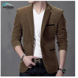Wholesale Korean Menswear - Wholesale- 2016 Spring and Autumn new fashion casual menswear suit jacket casual Korean Slim small suit England