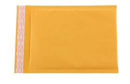 Wholesale Wholesale Mini Envelopes - mini order 50pcs small size Kraft Bubble Mailers Envelopes Wrap Bags Padded Envelope Mail Packing Pouch