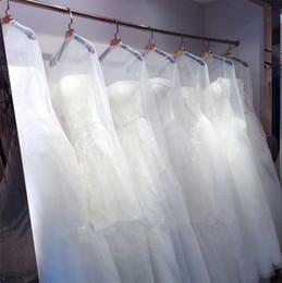 Deutschland Heißer Verkauf Hochzeitskleid Kleidertasche Kleidungsstück Abdeckung Reise Speicher Staubabdeckungen Braut Zubehör Für Braut Klar Staubbeutel Günstigen Preis Versorgung