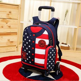 Wholesale Wholesale Plaid School Uniforms - The new baseball uniform backpack small clothes of primary and middle school students flash round rod bag