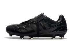 Argentina Completo Negro Predator Mania Champagne FG Messi Hombres Fútbol Zapatillas de deporte baratos 100% Original Hombres botines de fútbol Messi al aire libre zapatos de fútbol cheap messi black boots cheap Suministro