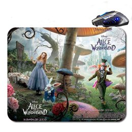 Wholesale Alice 18 - Alice In The Wonderlang Top Sell Free Shipping 18*22cm 25*20*cm 25*29cm Non-slip Rubber Mouse Pad Computer Gaming Mouse Pad