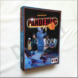 jogos de mesa de natal Desconto Jogo de tabuleiro pandemia Cartões de Papel Raciocínio Estratégico Praga Engraçado Jogo de mesa Do Partido Para A Família jogo