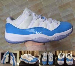 619254d35157fb north carolina shoes Promo Codes - 2017 Low UNC White University Blue 11 XI  Mens Basketball