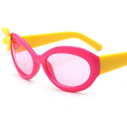 Wholesale Flower Sunglasses - Birthday gifts for girls flower sunglasses for girls children decoration kids girls sunglasses kids plastic frame sunglasses in stock