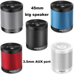 Wholesale Micro Bluetooth Handsfree - New ZEALOT S5 Super Bass Stereo Wireless Subwoofer Bluetooth Speaker Handsfree Micro SD USB MP3 Player With Microphone
