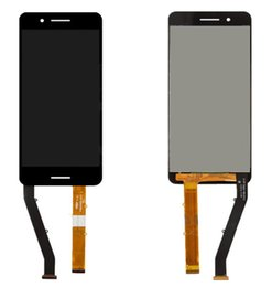 Wholesale Dual Sim Logo - LCD Display Touch Screen Digitizer Glass Replacement for HTC Desire 728G Dual Sim with Logo