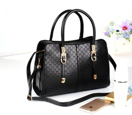 Wholesale Euro Style Bag - 2017 new womens designer handbags totes bags for lady Euro style luxury women bags fashion shoulder bags