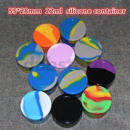 Wholesale Factory Container - Factory price 22ml non-stick silicone dab container ,food grade silicone wax container ,custom silicone jars dab wax container