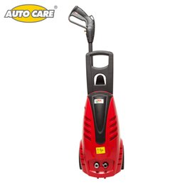 Wholesale Electric High Pressure Car Washer - Wholesale- AutoCare 1305 psi Electric Pressure Car Washer 1800 w 90 bar with Power Hose Nozzle High Pressure Gun and Bult-in Soap Dispenser