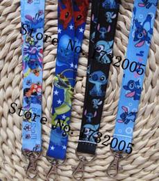 Wholesale Badge Stitch - Wholesale Popular Stitch Lanyards Keychain ID Badge Holder Mobile Phone Neck Straps SS12