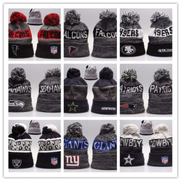 Wholesale Beanie Team Hats - Good Sale Beanies Hats American Football 32 team Beanies Sports Beanie Knitted Hats drop shippping Snapbacks Hats album offered