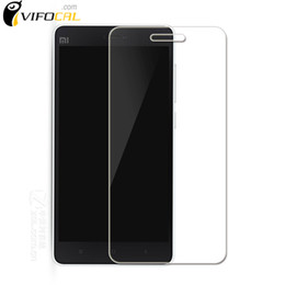 Argentina Al por mayor-para Xiaomi Mi4i vidrio templado 100% nuevo protector de pantalla de alta calidad película accesorio para mi 4i teléfono celular + envío gratuito cheap mi4i screen Suministro
