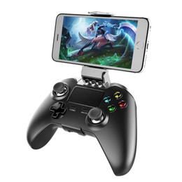Wholesale Ios Box Tv - New iPega PG-9069 PG 9069 Wireless Joystick Gamepad Gaming Controller Control for Mobile Phone Tablet PC iOS Android TV Box