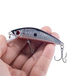 Wholesale Minnow Fly Lure - Lifelike Minnow Fishing Lure 7CM 8.5G 6# Hooks Fish Wobbler Tackle Crankbait Artificial Hard Bait Swimbait Soft bait