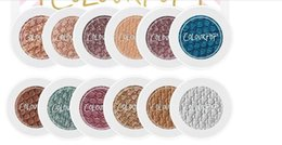 Wholesale Natural Shocks - New Arrival Colourpop Super Shock Bold Well Pigmented Eye Shadow 10 Colors Waterproof Matte Natural Eyeshadow Free Shipping Drop Shipping