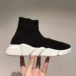 Wholesale Thin Toe Sock Women - Brand New men&Women Boots Knitting Wool Tube Cloth Socks Shoes Elastic Sleeve Feet Shoes Fashion Thin Short Boots Casual Shoes A7051401
