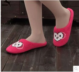 Wholesale Heavy Sewing - Wholesale-Cotton Home Slippers Female Waterproof Non-Slip Soft Bottom Shoes Women Slippers Heavy-Bottomed Wooden Floor Indoor Shoes