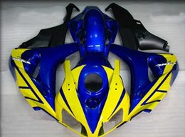 Wholesale cbr body parts - ABS Plastic fairing kit for CBR1000RR 06 07 CBR 1000RR 2006 2007 fairings motorcycle parts body work aftermarket yellow blue black