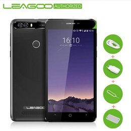 Wholesale Rear Camera Gps Inch - Leagoo Kiicaa Power Smart Phone 5.0 inch 3G 4000mAh Android 7.0 Cellphone MT6580A 2G RAM 16G ROM 8MP Dual Rear Cam Mobile Phone