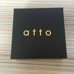 Wholesale mod stainless - atto mechanical mod 2 tube match with 18650 18350 battery made by 316 stainless steel free shipping