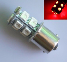 Wholesale 1156 Led Light Rv - 20 PCS Warm White 1156 LED RV Camper Trailer 1141 Interior Light Bulbs 13SMD 12V