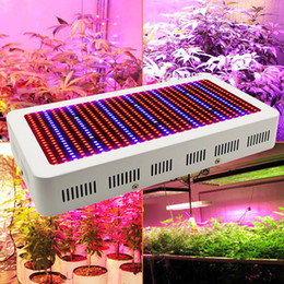 Wholesale Grow Indoor Hydroponics - 400 LEDs Grow Lights Full Spectrum 400W 600W Indoor Plant Lamp For Plants Vegs Hydroponics System Grow Bloom Flowering Free Shipping