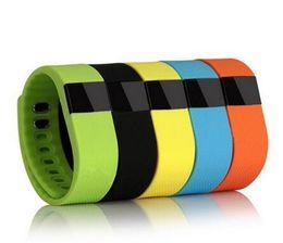 Wholesale Push Fit - Waterproof IP67 Smart Wristbands TW64 bluetooth fitness activity tracker smartband pulsera wristband watch not fitbit flex fit bit Free Ship