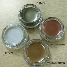 Wholesale Limited Camo - kylie holiday edition Chiristmas Limit Eyeshadow Cream Eyebrow Cream Camo Snow Yellow gold golden plum DHL ship