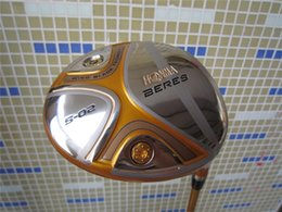 Wholesale Oem Golf Driver Heads - 5 Star Honma S-02 Driver Honma S-02 Golf Driver OEM Golf Clubs 9 10 Lofts Regular or Stiff Graphite Shaft With Head Cover