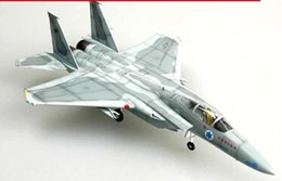Wholesale Scale Plane - Wholesale- EASYMODEL scale model 37121 1 72 scale airplane F-15C assembled model plane finished model does not need to assemble