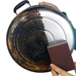 Cozinha Magia Limpa Esfregue a panela Exceto ferrugem Focal manchas Emery Esponja frete grátis de