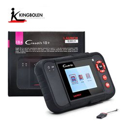 Wholesale Car Diagnostic Scanner Airbag - Launch Creader VII+ Super Car diagnostic tool for Engine, Transmission, ABS, and Airbag system Diagnostic code reader scanner Free shipping