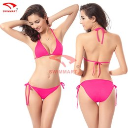 Wholesale Candy Colours - Swimsuit bikini sexy 11 color candy color at three classic euramerican bathing suit
