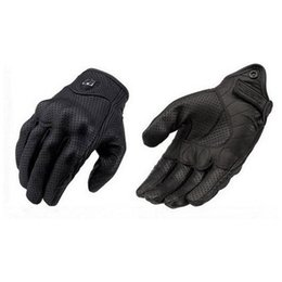 Wholesale Cycles Gloves - Icon leather gloves motorcycle off-road Cycling gloves outdoorsports bike gloves