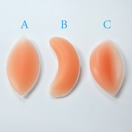 Wholesale Chicken Fillets - Chicken Fillets Silicone Breast Enhancers Bra Insert Pad OPP Bag Package 300pairs