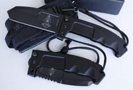 Wholesale Quality Axes - Top quality EXTREMA RATIO RAO ET-RAO Extreme force head survival knife ET-185RAO 440C blade CKO1120 Anticorodal axis lock folding knife