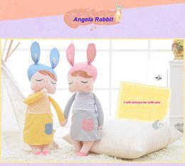 Wholesale Pp Cotton Stuffing - Angela Rabbit Girl Metoo Doll Kawaii Plush Stuffed Animal Cartoon Kids Toys for Girls Children Baby Birthday Christmas Gift